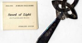 The Sword of Light as used by the Assay Office for the 1916 jubilee hallmark