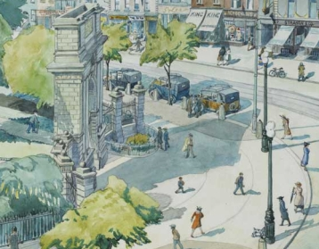 harry kernoff - st stephen's green